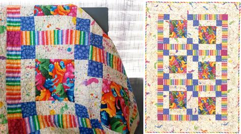 A Simple Baby-quilt Pattern—free!