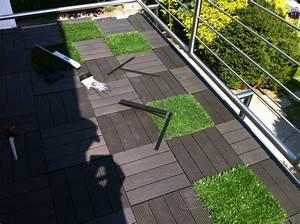 Kann Man Wpc Dielen Schrauben : wpc klickfliesen auf dem balkon verlegen bauanleitung ~ A.2002-acura-tl-radio.info Haus und Dekorationen
