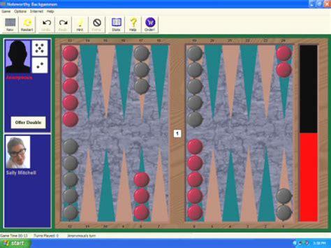 noteworthy backgammon easy  play pc backgammon game