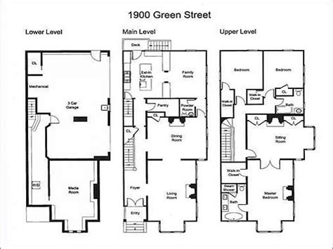 small house plans for narrow lots creepy house small house floor plans