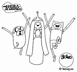 finn jake coloring pages