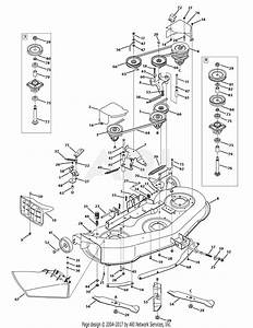 Mtd 13ao771h055  2009  Parts Diagram For Mower Deck 46 Inch