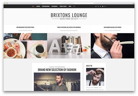 Creative Wordpress Themes For Blog Portfolio Agency