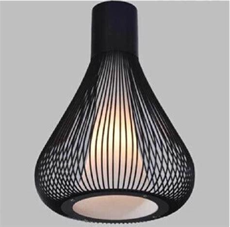 black wrought iron pendant light italy design modern