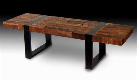 wood coffee table with metal legs furniture thick wooden table top combine with table legs