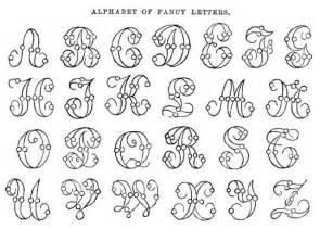 best photos of free printable fancy alphabet letters