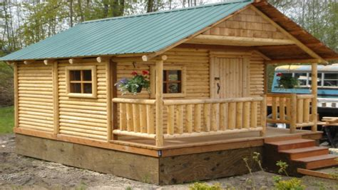 small log cabin kits mini cabins and houses micro log cabin kits building