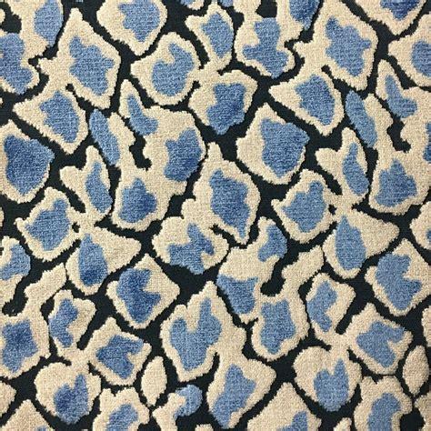 velvet upholstery fabric leopard pattern cut velvet upholstery fabric by