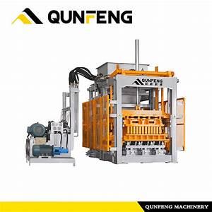 China Qf2000 Manual Concrete Block Machine