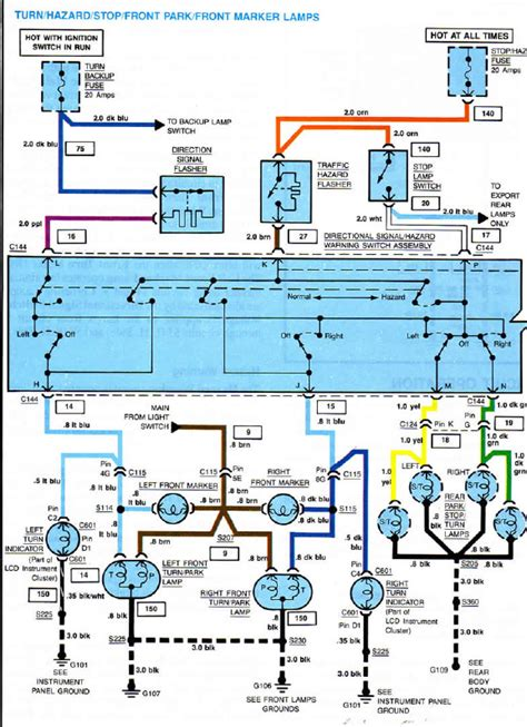 Interior Light Wiring Diagram For 1993 Corvette by Trouble With Export Light Wiring