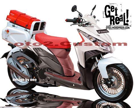 Modivikasi Vario by Vario Techno 125 Modifikasi Minimalis Thecitycyclist