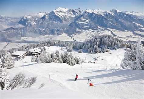skigebiet pizol ferien  graubuenden schweiz