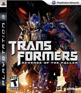Transformers Revenge Of The Fallen  The Game Cover Arts - Transformers News