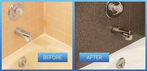 Tile Refinishing Reglazing Resurfacing In Bathroom