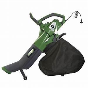 Aspirateur à Feuilles électrique : aspirateur souffleur broyeur de feuilles 2800w pro achat ~ Edinachiropracticcenter.com Idées de Décoration