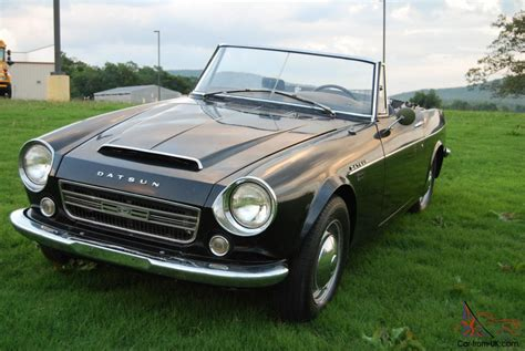 1967 Datsun Roadster by 1967 Datsun 2000 Roadster