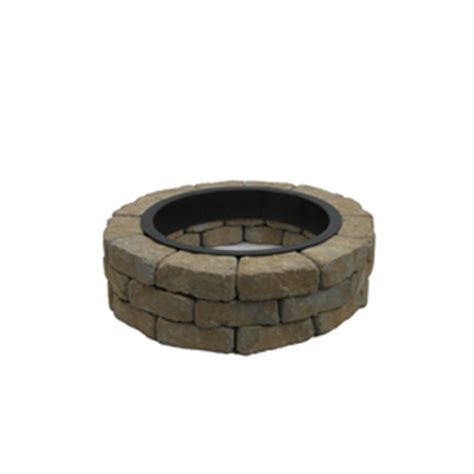 shop allen roth gray flagstone pit patio block