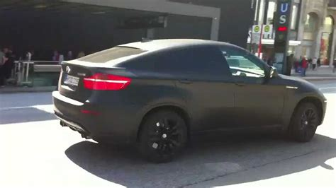 matte black bmw   drive   hamburg youtube
