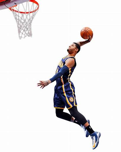 Nba Basketball Player Dunk Transparent Background Paul