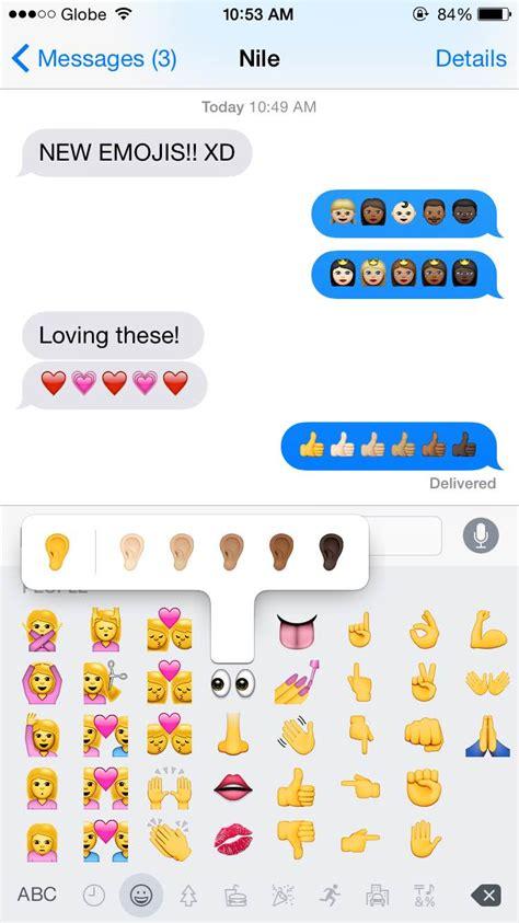 update emoji iphone cheers to diversity iphone updates emoji skin color Updat
