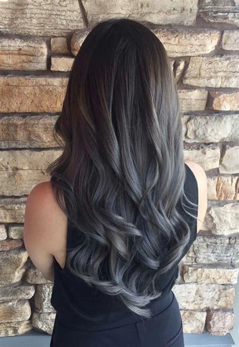 Dark Grey Ombre Hair Color Ideas Hair