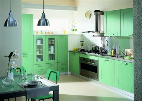 deco cuisine vert décoration cuisine vert déco sphair