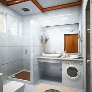 Salle De Bain Moderne Petit Espace : la salle de bain design petit espace quelques id es ~ Dailycaller-alerts.com Idées de Décoration