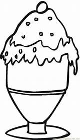 Coloring Dessert Pages Desserts Printable Food Ice Cream Cliparts Coloringpages101 Colouring Getcoloringpages sketch template