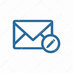 Logo Enveloppe Courrier Adresse Ic U00f4ne Message Bulletin Symbole Vecteur  U2014 Image Vectorielle