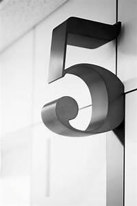Numéro Maison Design : signal tique de maison un num ro de porte qui en jette ~ Premium-room.com Idées de Décoration