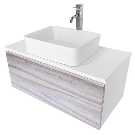 cibo design mm cafe oak glee vanity white basin