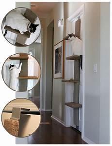 Arbre à Chat Fait Maison : arbre a chat gain de place ~ Melissatoandfro.com Idées de Décoration