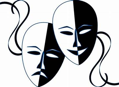 Masks Theatre Clip Clipart Theater Drama Mask