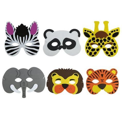 mascara animales salvajes