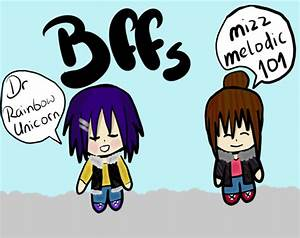 Chibi friendship drawing by mizzmelodic101 on DeviantArt