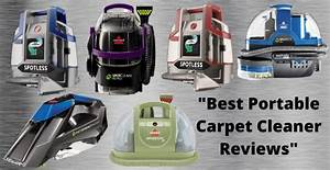 Best Portable Carpet Cleaner Reviews And Buyer U0026 39 S Guide 2020