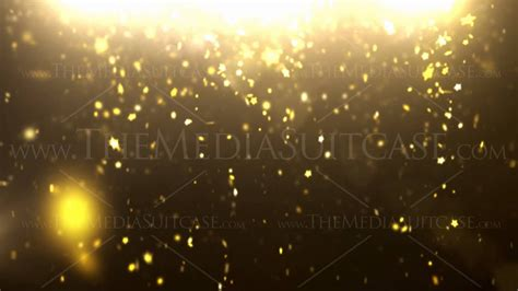 sparkle dust background loop gold stars hd youtube