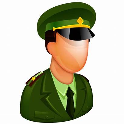 Military Icon Army Officer Soldier General Police