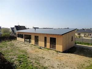 Ossature Bois Maison : maison ossature bois portshall pr s de morlaix en ~ Melissatoandfro.com Idées de Décoration