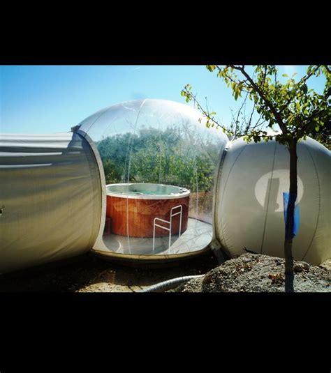 chambre bulle photo a proximité de la chambre une bulle spa