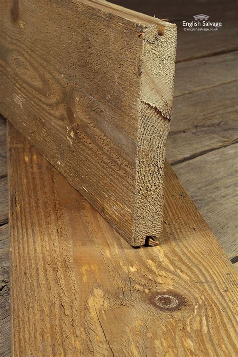 reclaimed tongue groove pine plank flooring
