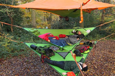 3 Person Hammock Tent by C In The Air New Suspended Treehouse Tents And
