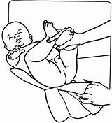Diaper Baby Changing Children Line Vinyl Customize Sticker Decals Template Coloring Pages Beevault Signspecialist sketch template