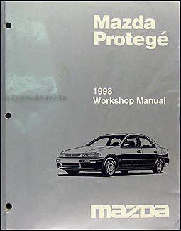 best car repair manuals 1998 mazda 626 electronic toll collection 1998 mazda protege repair shop manual original