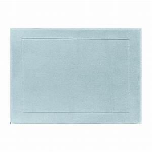 Tapis Scandinave Bleu : tapis de bain 80x60 ponge caresse bleu scandinave tapis de salle de bain le bain le ~ Teatrodelosmanantiales.com Idées de Décoration