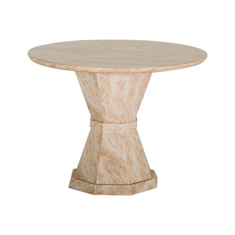 cream marble dining table venus round cream marble dining table free delivery fads