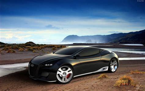 Audi Ultimate Black Concept Wallpaper