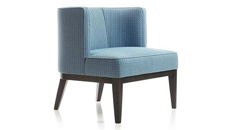 grayson blue barrel chair crate and barrel