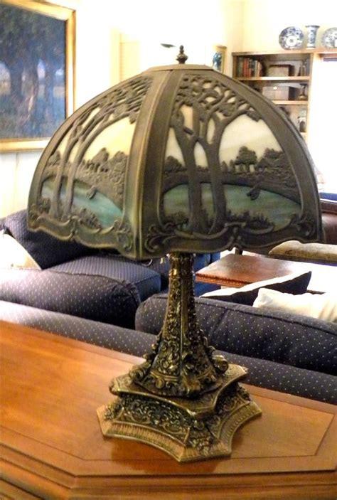 antique handel arts crafts bradley hubbard era slag