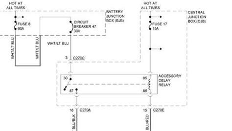 Standard Ford Explorer Fuse Diagram Power Windows Fixya